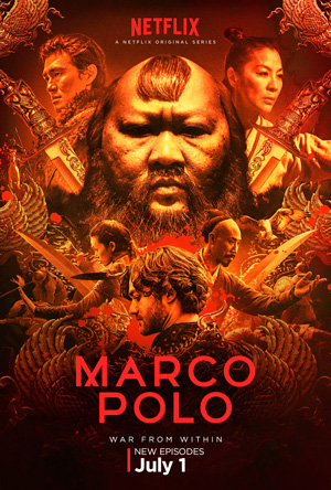 Marco Polo season 2 poster Netflix channel