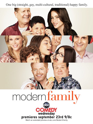 Modern Family season 1 poster ABC channel
