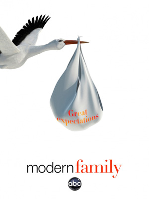 Modern Family season 4 poster ABC channel