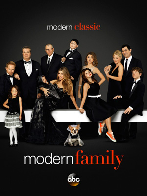 Modern Family season 5 poster ABC channel