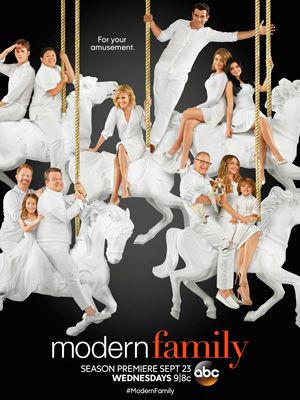 Modern Family season 7 poster ABC channel