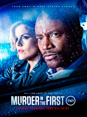 Murder in the First season 1 poster TNT channel