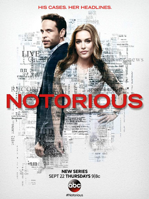 Notorious season 1 poster ABC channel