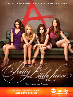 Pretty Little Liars season 3 poster Freeform ABC Family channel