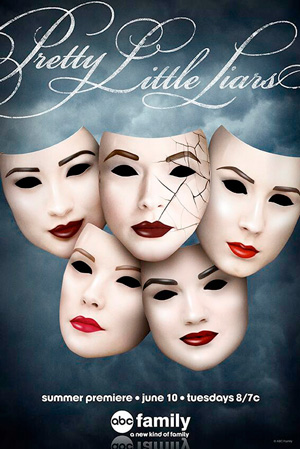 Pretty Little Liars season 5 poster Freeform ABC Family channel
