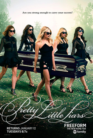 Pretty Little Liars season 6 poster Freeform channel