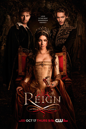 Reign season 1 poster The CW channel