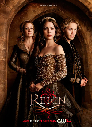 Reign season 2 poster The CW channel
