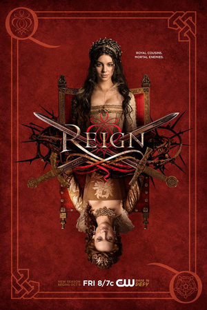 Reign season 3 poster The CW channel
