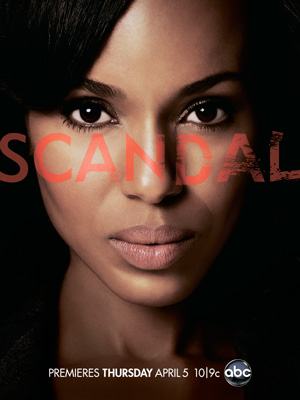 Scandal season 1 poster ABC channel