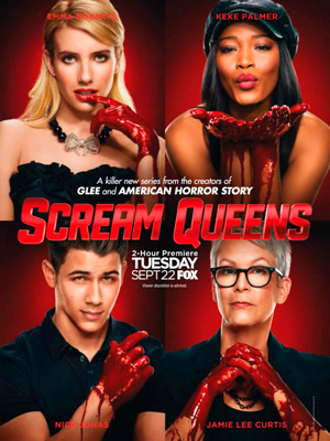 Scream Queens season 1 poster FOX channel
