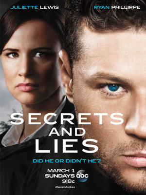 Secrets and Lies season 1 poster ABC channel