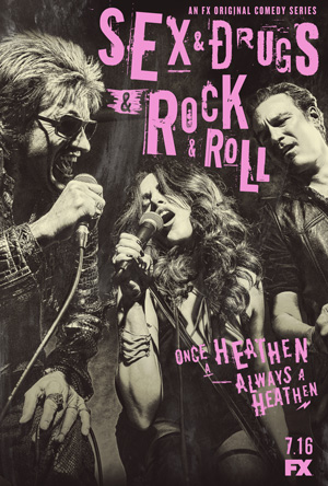 Sex and Drugs and Rock and Roll season 1 poster FX channel