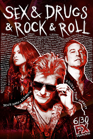 Sex and Drugs and Rock and Roll season 2 poster FX channel
