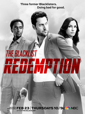 The Blacklist Redemption season 1 poster NBC channel