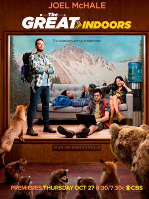 The Great Indoors season 1 poster CBS channel