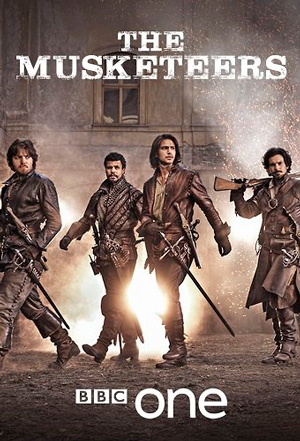 The Musketeers season 1 poster BBC One channel
