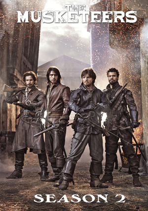 The Musketeers season 2 poster BBC One channel