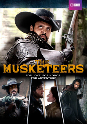 The Musketeers season 3 poster BBC One channel