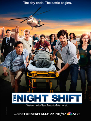 The Night Shift season 1 poster NBC channel