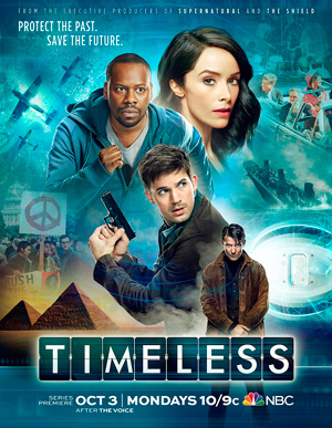 Timeless season 1 poster NBC channel