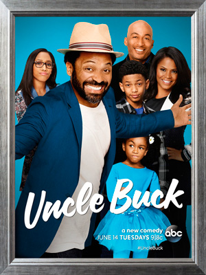 Uncle Buck season 1 poster ABC channel