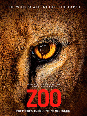 Zoo season 1 poster CBS channel