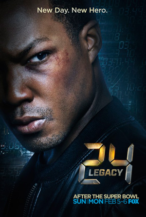 24 Legacy season 1 poster FOX channel