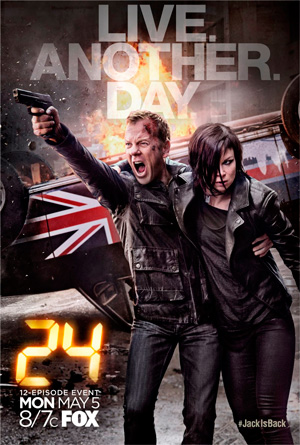 24 Live Another Day poster FOX channel