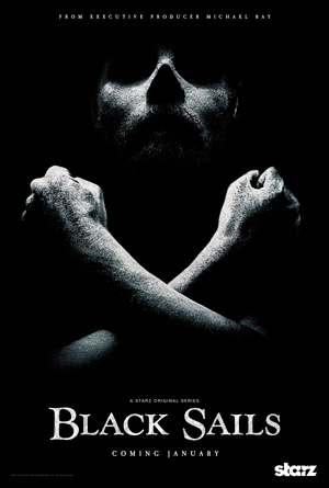 Black Sails season 1 poster Starz channel
