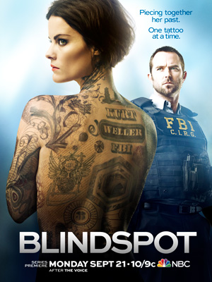 Blindspot season 1 poster NBC channel
