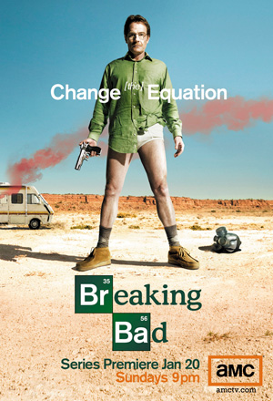 Breaking Bad season 1 poster AMC channel
