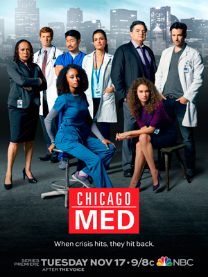 Chicago Med season 1 poster NBC channel