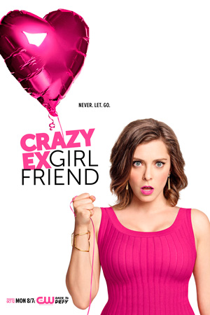 Crazy Ex-girlfriend season 1 poster The CW channel