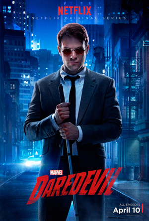 Daredevil season 1 poster Netflix channel
