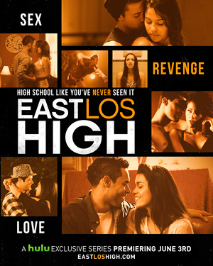 East Los High season 1 poster Hulu channel