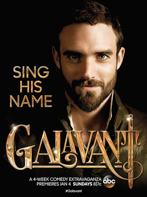Galavant season 1 poster ABC channel