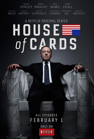 House of Cards season 1 poster Netflix channel