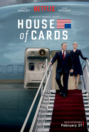 House of Cards season 3 poster Netflix channel