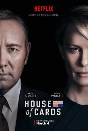 House of Cards season 4 poster Netflix channel