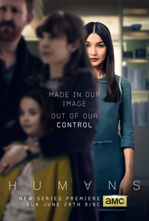 Humans season 1 poster AMC channel