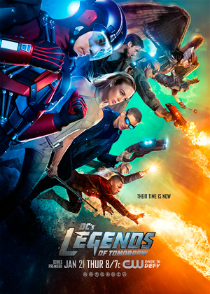 Legends of Tomorrow season 1 poster The CW channel