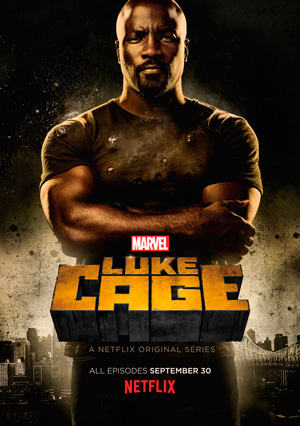 Luke Cage poster season 1 Netflix channel