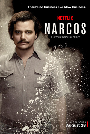 Narcos season 1 poster Netflix channel