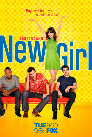 New Girl season 1 poster FOX channel