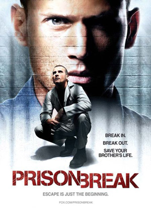 Prison Break season 1 poster FOX channel