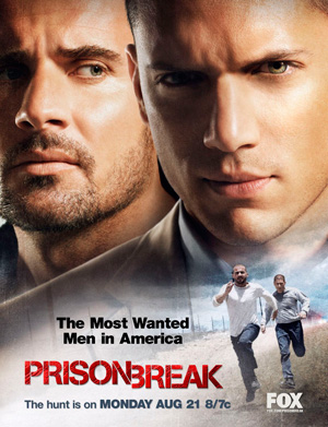 Prison Break season 2 poster FOX channel