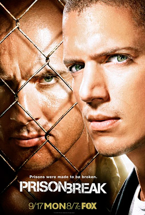 Prison Break season 3 poster FOX channel