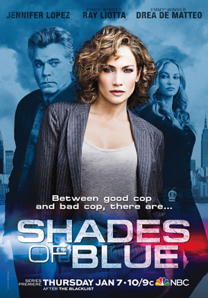 Shades of Blue season 1 poster NBC channel