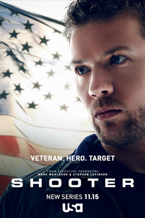Shooter poster season 1 USA Network